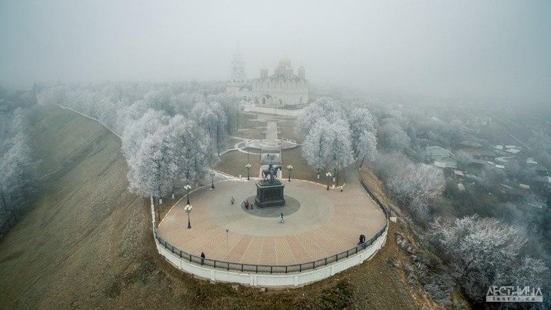 Морозный Владимир с высоты 01