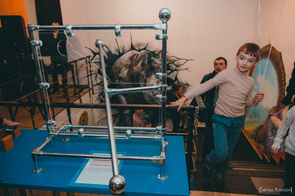 Музей иллюзий и наук Да Винчи 13