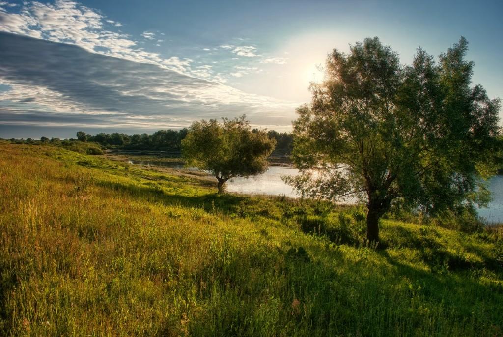Муромские пейзажи. Река Ока и Илевна 02