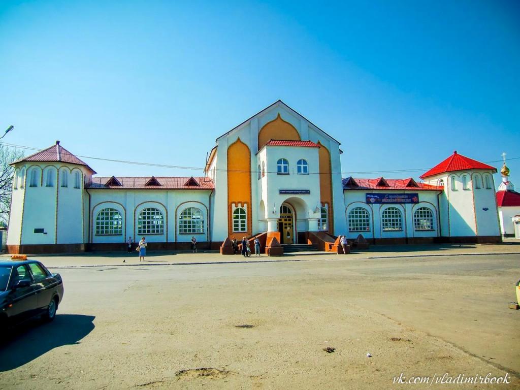 Муромский железнодорожный вокзал, 2010 год 01