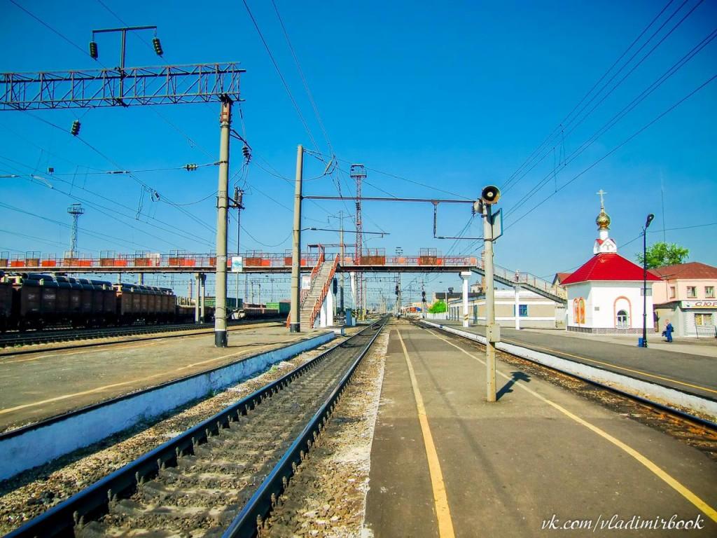 Муромский железнодорожный вокзал, 2010 год 02