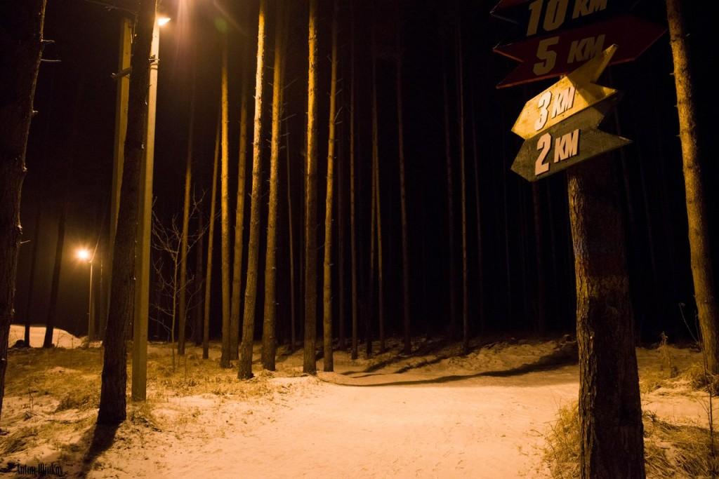 Освещённая трасса для занятий спортом в Гусь-Хрустальном 08