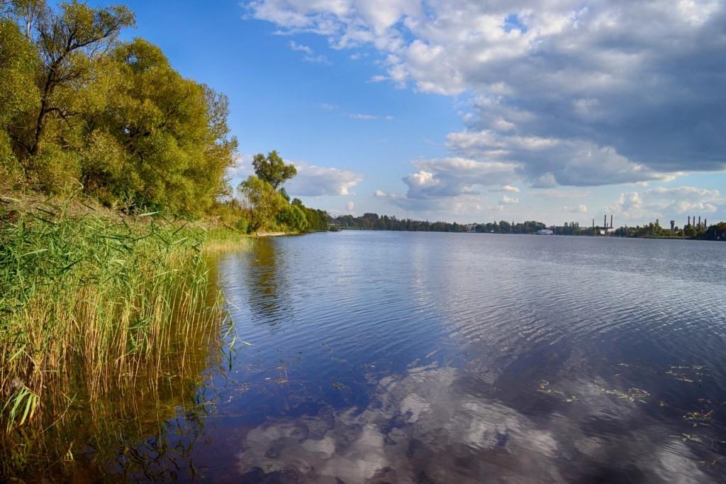 Осень на пруду в Гусь-Хрустальном