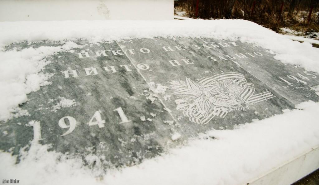 Памятник погибшим в ВОВ (д. Ильино, Судогодский р-н) 01