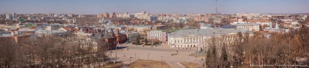 Панорама центра Владимира