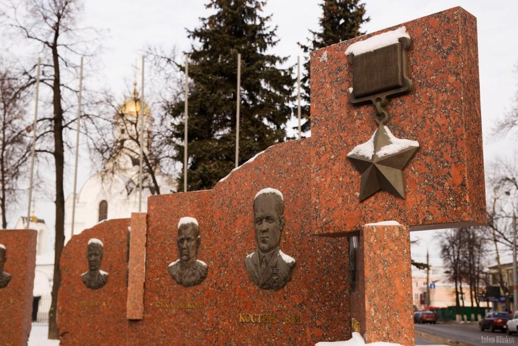 Площадь Победы. г. Владимир. Смена караула 06