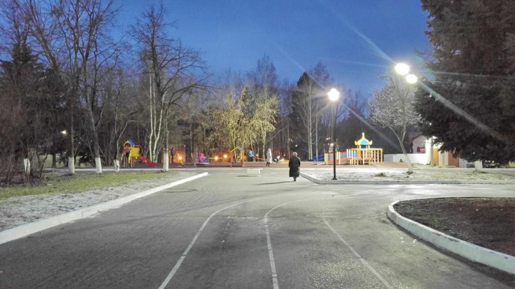 Площадь Прокуророва, вид на детскую площадку