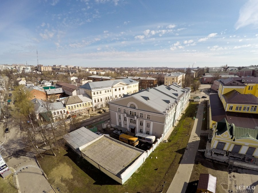 Прекрасный Владимир с высоты от проекта Le Talo 04
