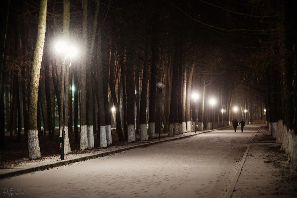 Прогулка по заснеженному Владимиру с Антоном Родионовым 03