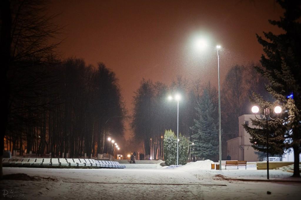Прогулка по заснеженному Владимиру с Антоном Родионовым 05