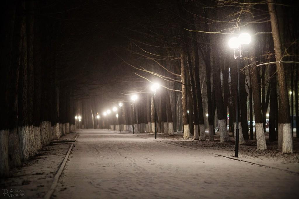 Прогулка по заснеженному Владимиру с Антоном Родионовым 07