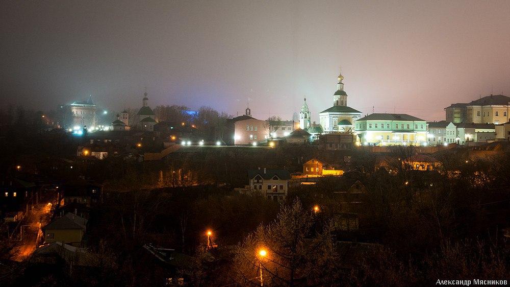 Прогулки по ночному Владимиру с Александром Мясниковым 03