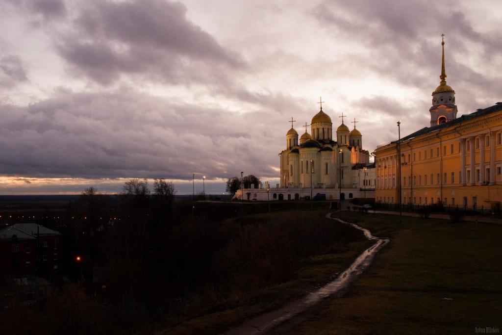 Раннее утро во Владимире