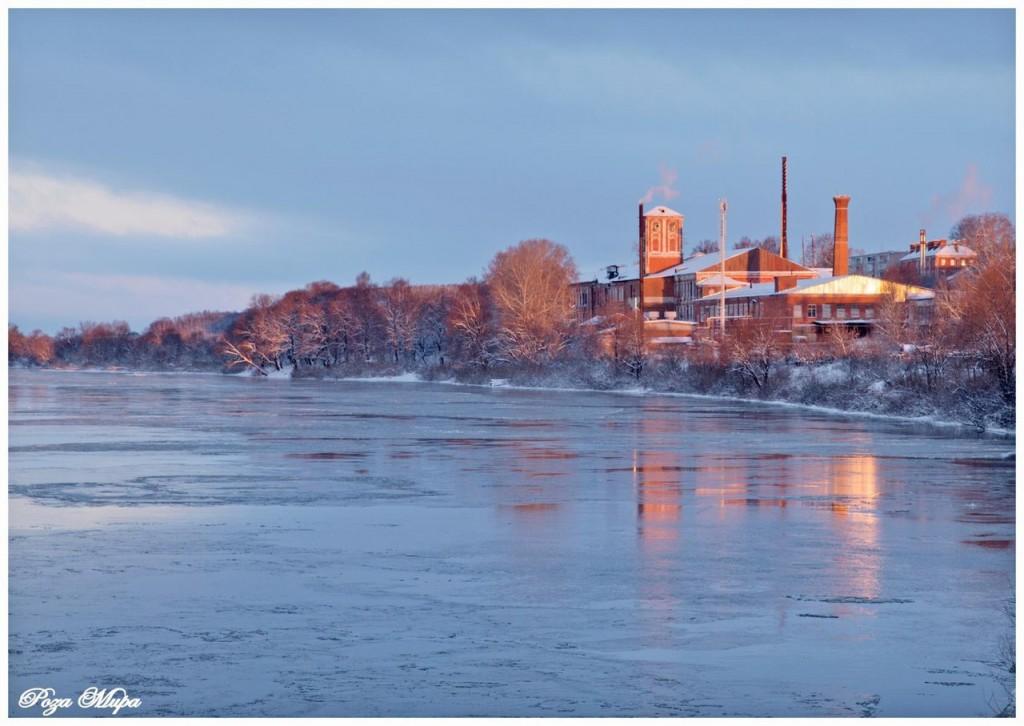 Река Клязьма, вид на мкр. Оргтруд (г. Владимир)