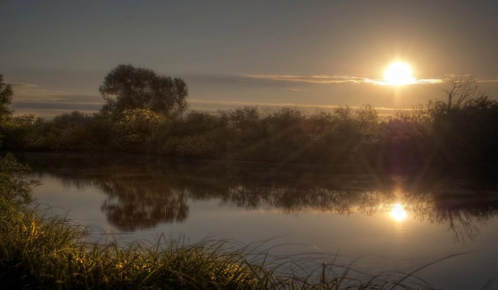 Река Ока и Илевна. Безмятежность 02