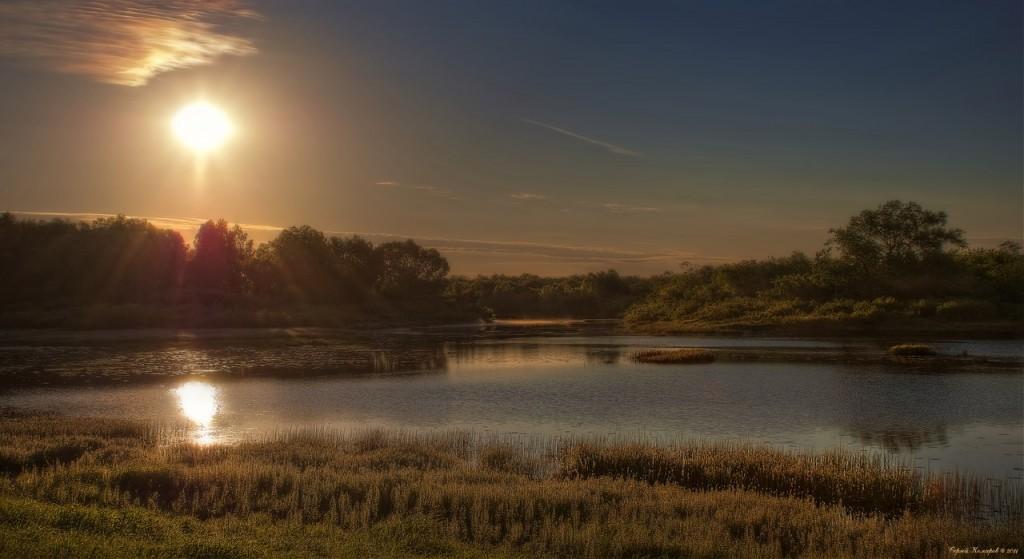 Река Ока и Илевна. Безмятежность 05