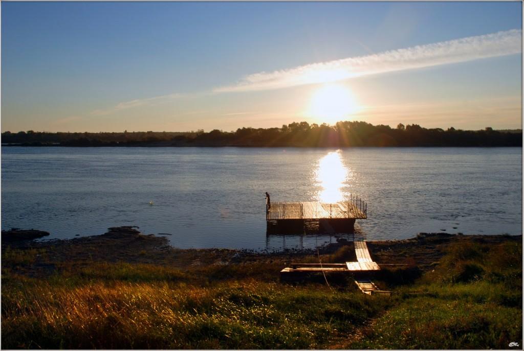 Река Ока и Илевна. Безмятежность 07