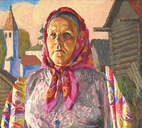Село Любец - Русские женщины. Деревня. Провинция 02
