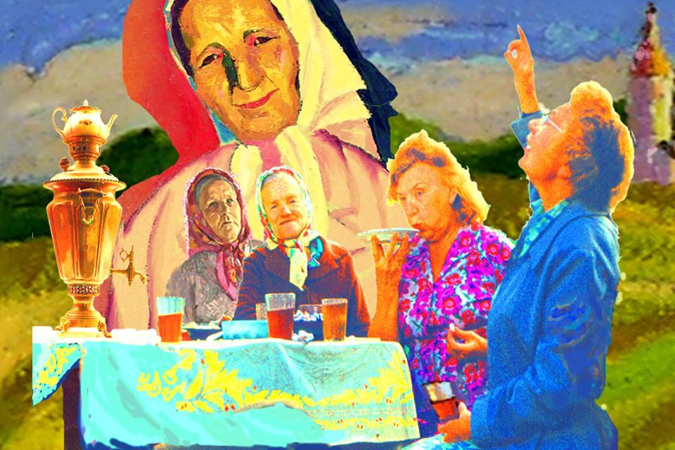 Село Любец - Русские женщины. Деревня. Провинция 03