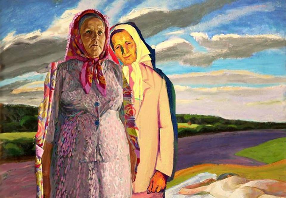 Село Любец - Русские женщины. Деревня. Провинция 07