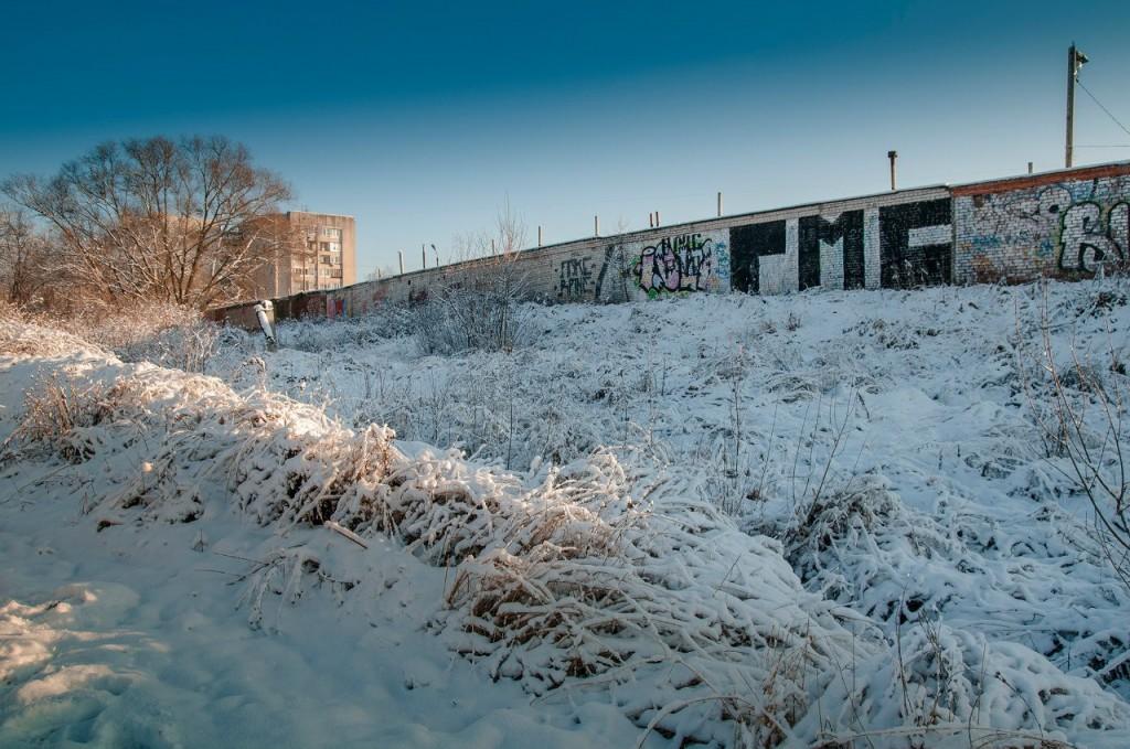 Снежная прогулка с Борисом Пучковым 07