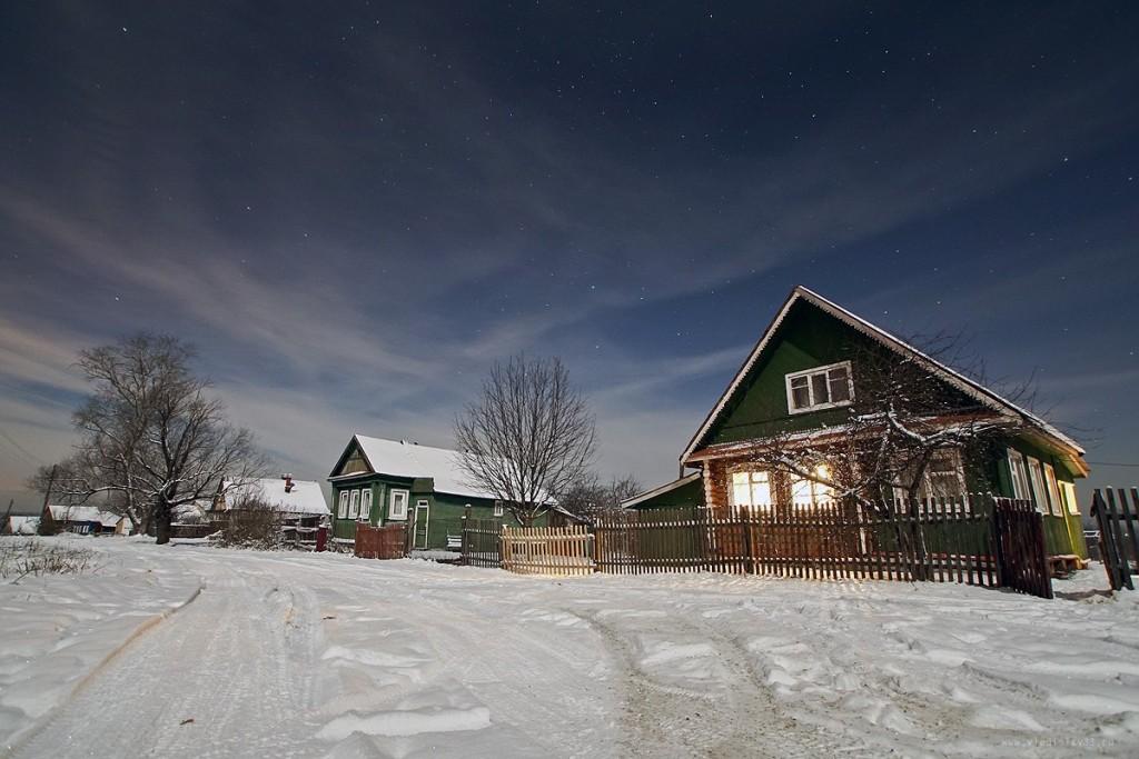 Снежный ноябрь во Владимирской деревне 03