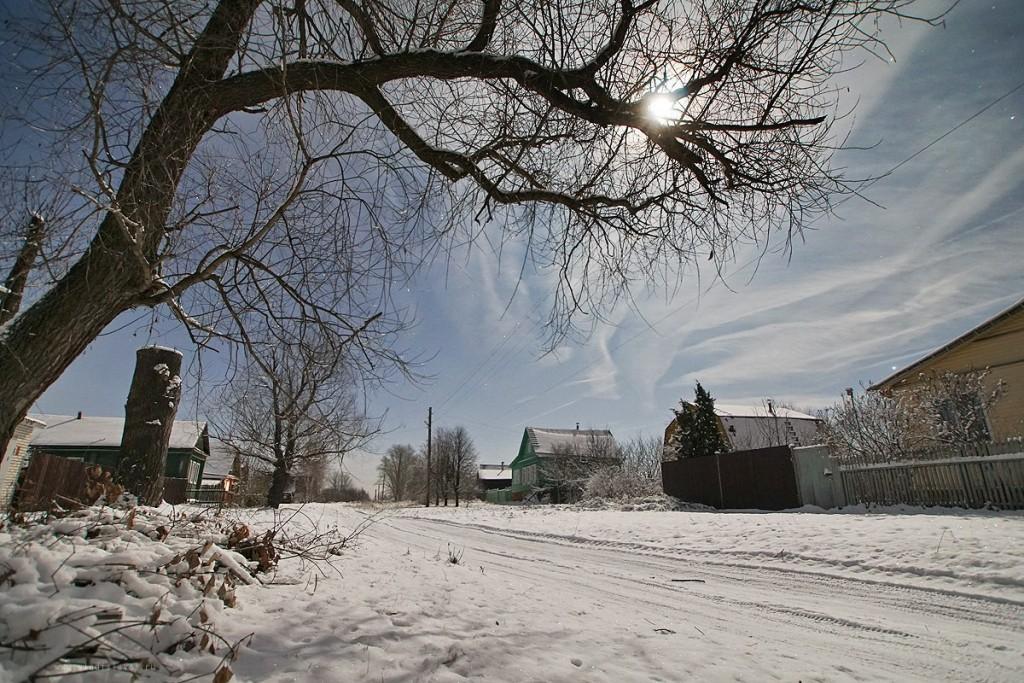 Снежный ноябрь во Владимирской деревне 04