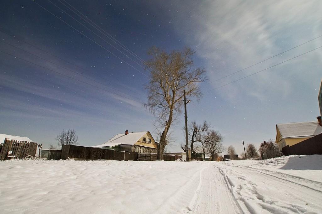 Снежный ноябрь во Владимирской деревне 05