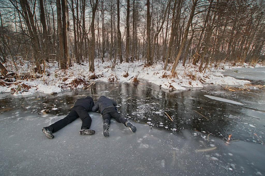 Снежный ноябрь во Владимирской деревне 09