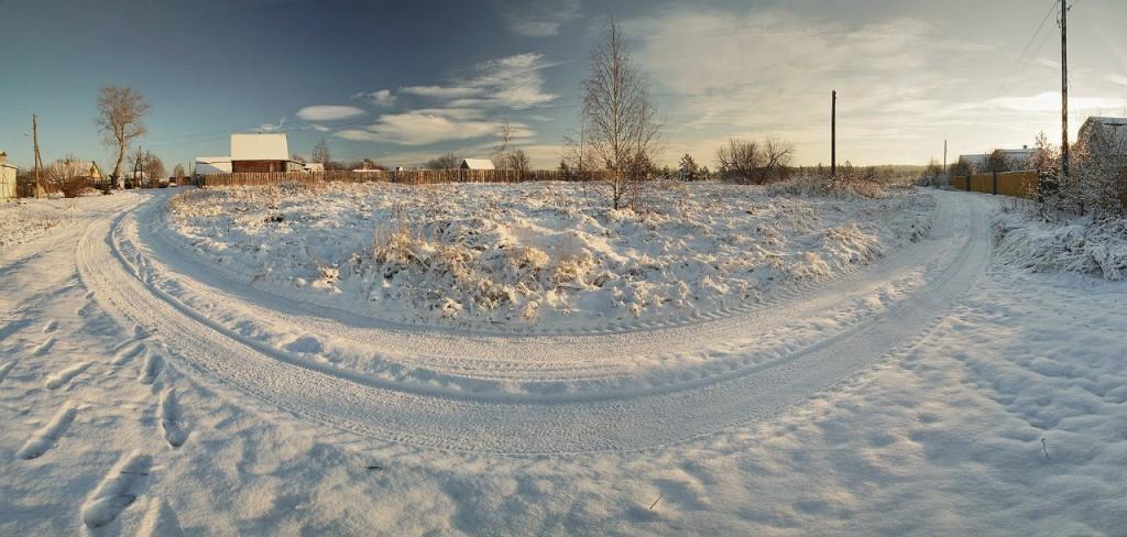 Снежный ноябрь во Владимирской деревне 10