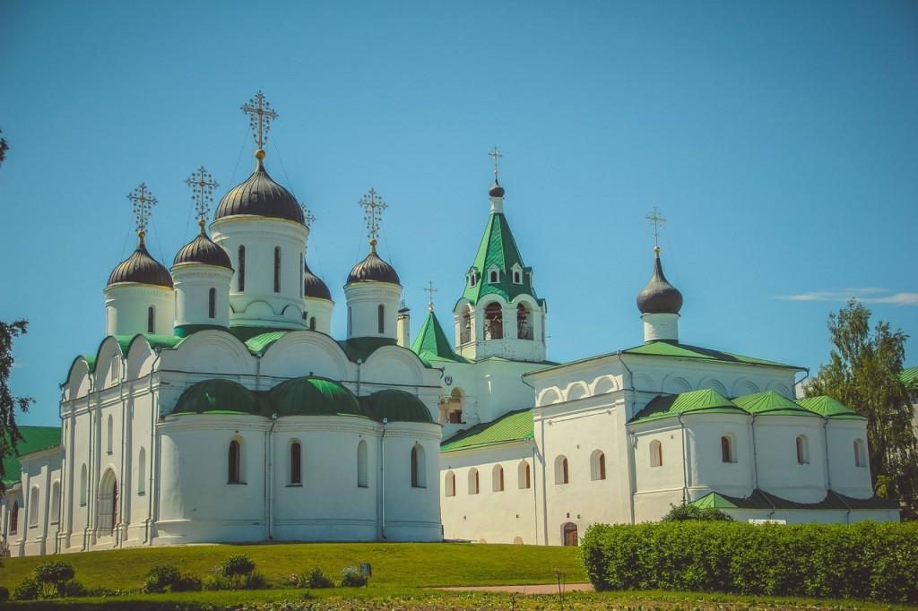Спасо-Преображенский монастырь в городе Муроме 01