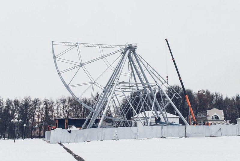 Строительство Колеса Обозрения во Владимире 01