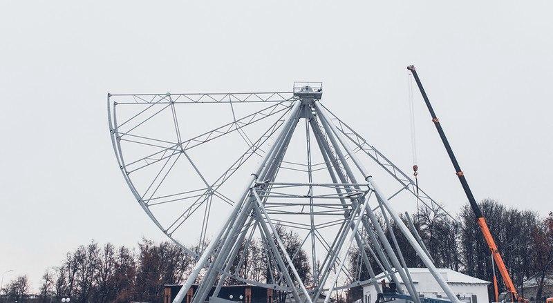 Строительство Колеса Обозрения во Владимире 02
