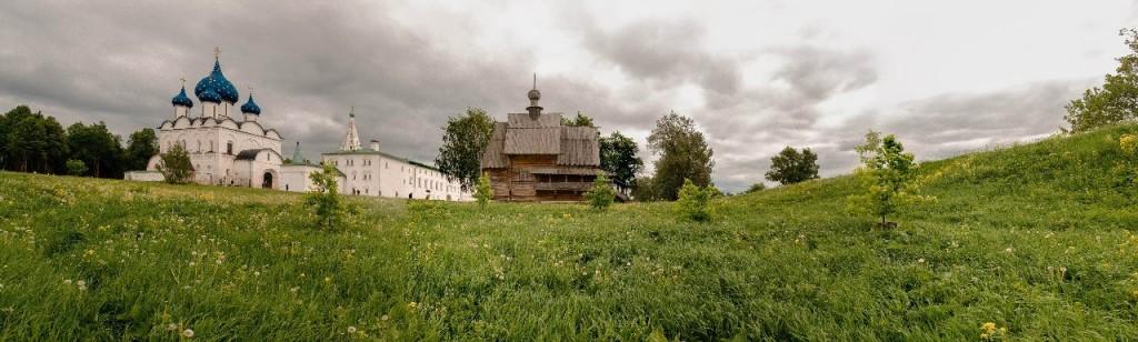 Суздальская панорама от Бориса Пучкова