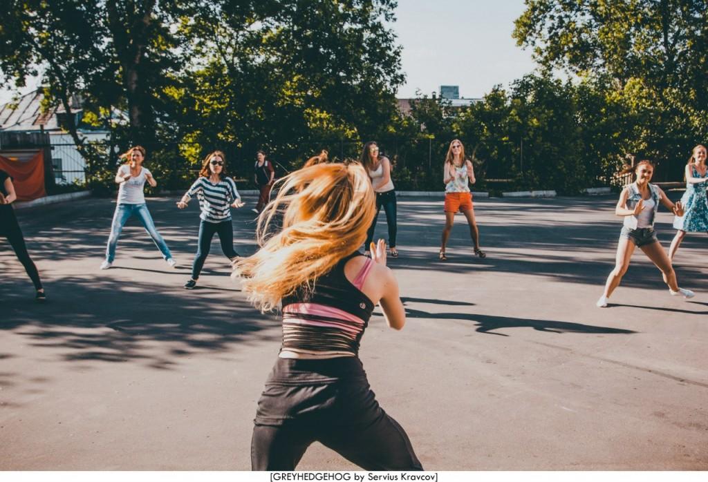Танцы на свежем воздухе во Владимире 005