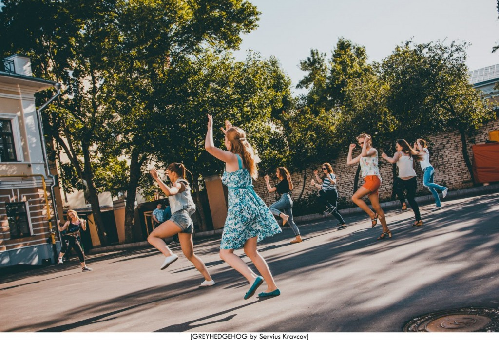 Танцы на свежем воздухе во Владимире 006
