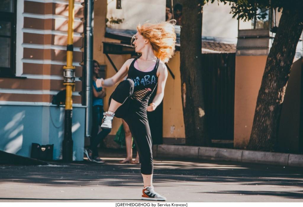 Танцы на свежем воздухе во Владимире 007