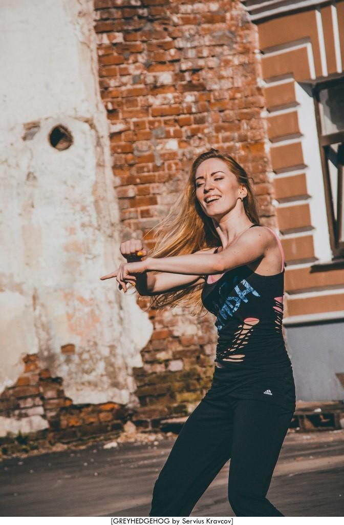 Танцы на свежем воздухе во Владимире 011