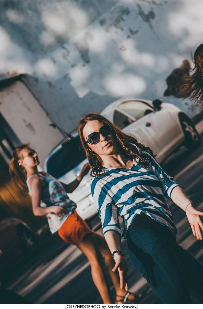 Танцы на свежем воздухе во Владимире 012