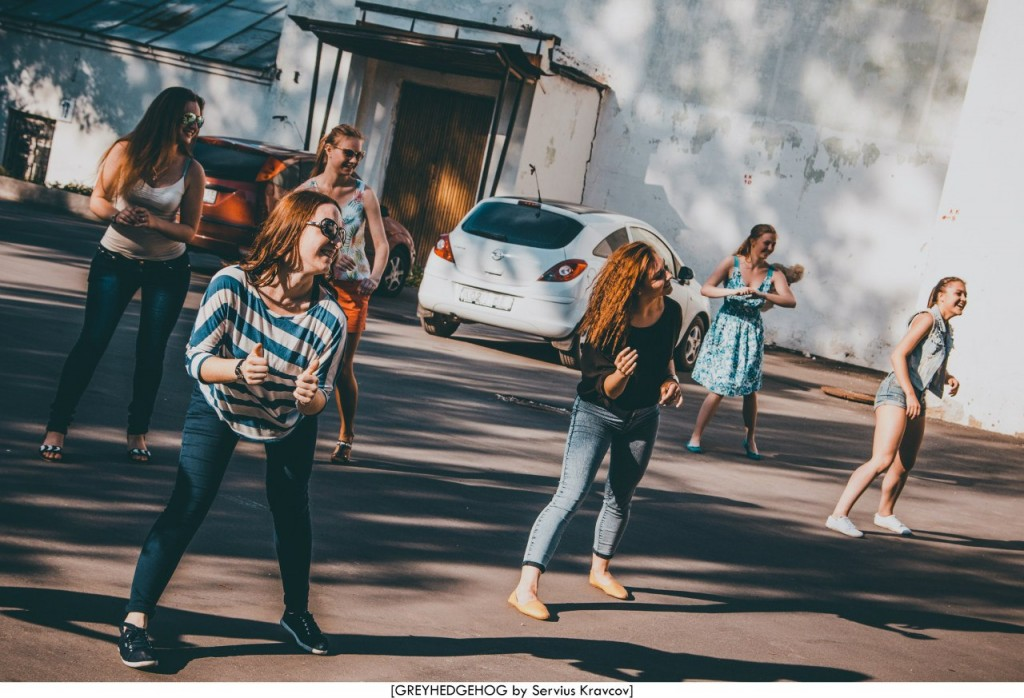 Танцы на свежем воздухе во Владимире 013