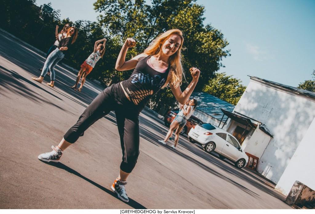 Танцы на свежем воздухе во Владимире 017