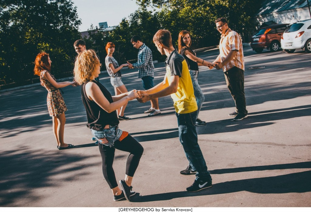 Танцы на свежем воздухе во Владимире 018