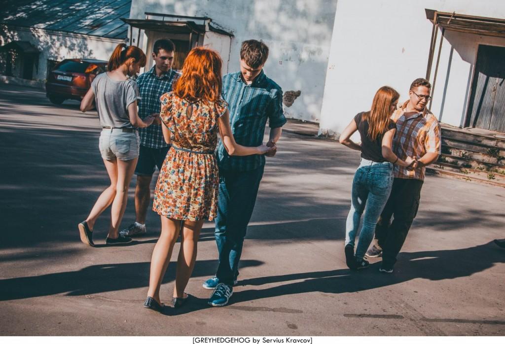Танцы на свежем воздухе во Владимире 020