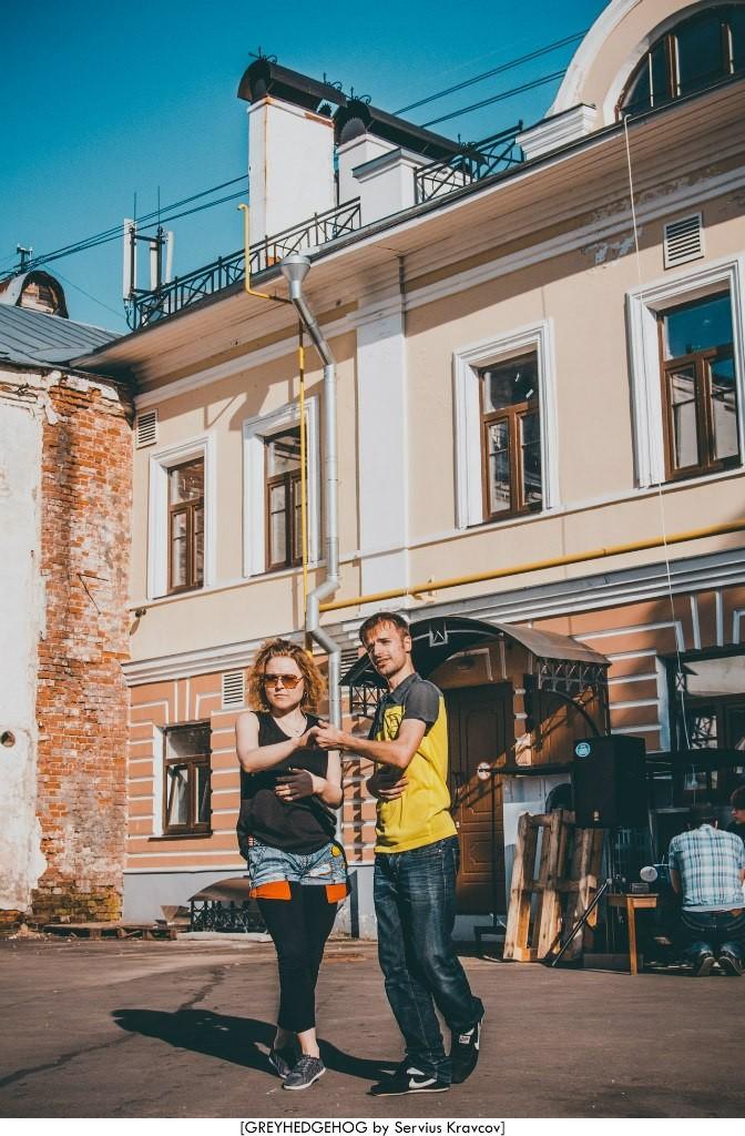 Танцы на свежем воздухе во Владимире 021