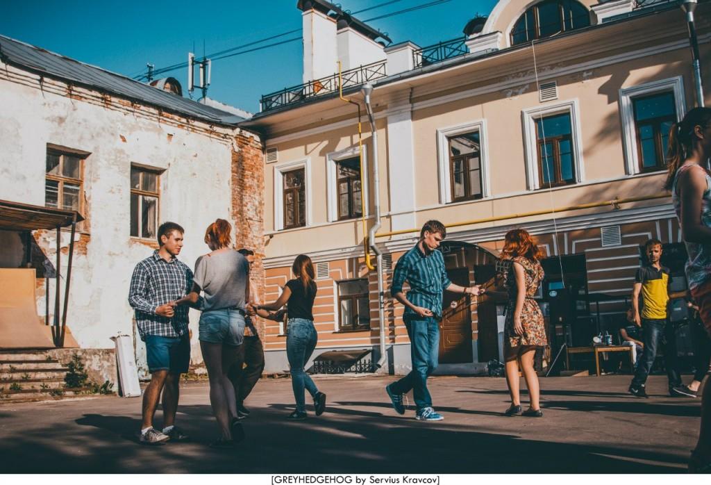 Танцы на свежем воздухе во Владимире 023