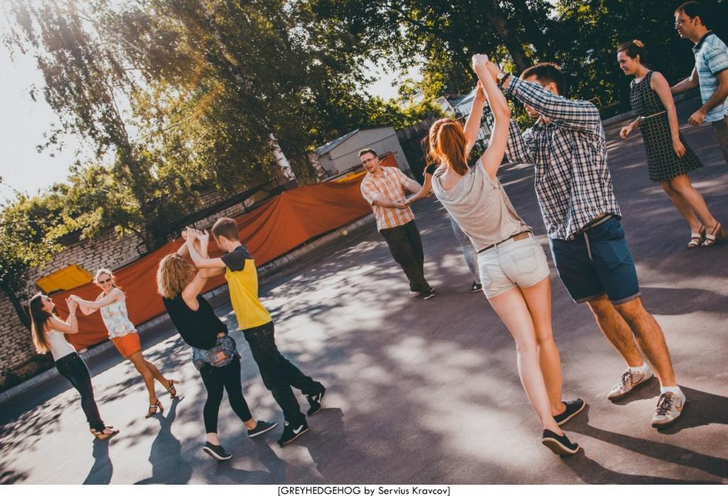 Танцы на свежем воздухе во Владимире 028