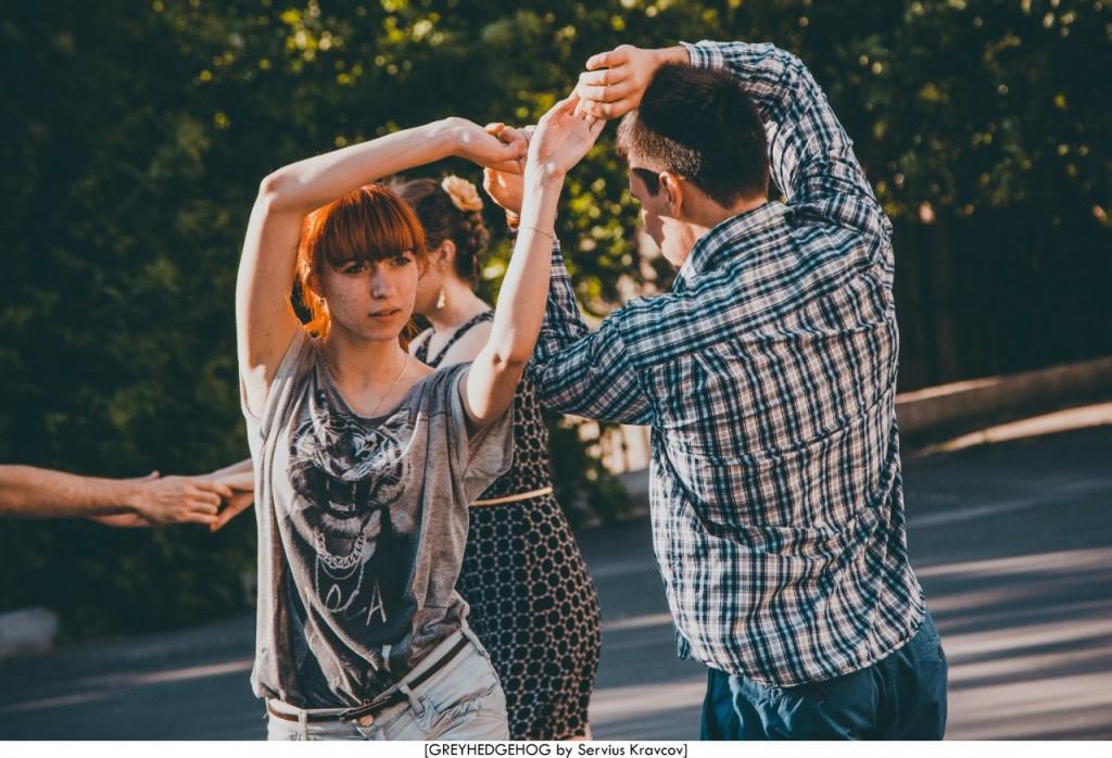 Танцы на свежем воздухе во Владимире 030