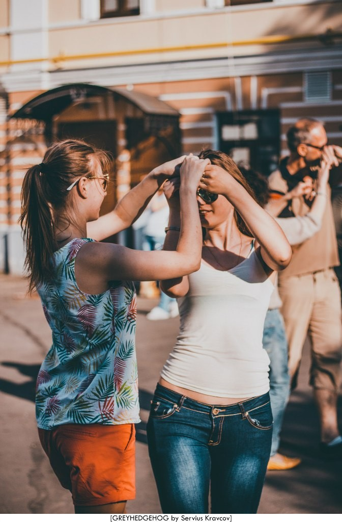 Танцы на свежем воздухе во Владимире 032