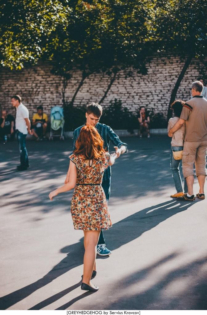 Танцы на свежем воздухе во Владимире 038