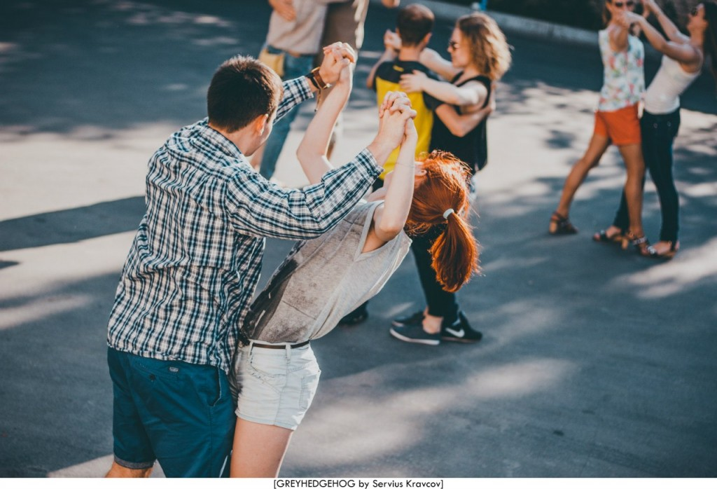 Танцы на свежем воздухе во Владимире 042